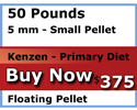 kenzen buy 50 pounds 5mm floating Primary Diet koi food